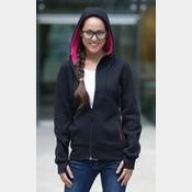 ATC Pro Fleece Full Zip Hooded Ladies Sweatshirt Thumbnail