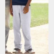 Champion Youth Double Dry Eco Open Bottom Sweatpants with Pockets Thumbnail