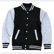 Fleece Varsity Jacket Thumbnail