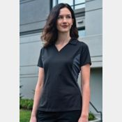 Snag Resistant Colour Block Ladies' Sport Shirt Thumbnail